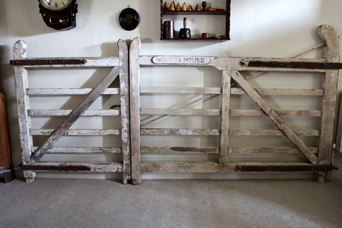Early 20th Century Wooden Country House Gates