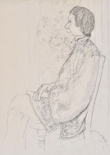 Carolyn Sergeant - The Chinese Jacket - drawing