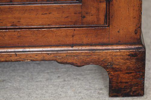 Antique Georgian Pine Enclosed Dresser/Sideboard