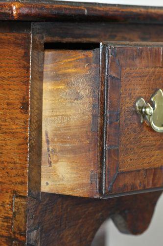 18th Century Oak Lowboy/Side Table