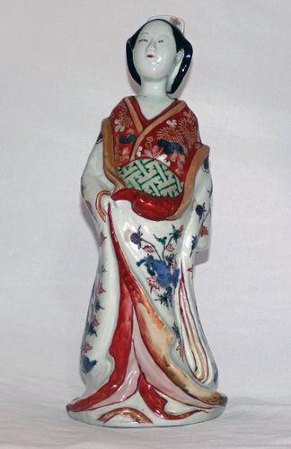 Japanese Bijan Imari Figure