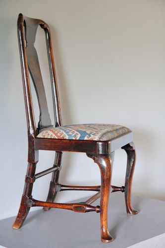 18th Century Walnut Side Chair