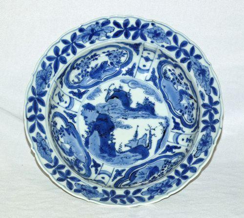 Chinese Ming porcelain Kraak Dish