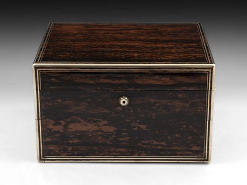 Antique Coromandel Vanity / Dressing Box