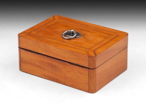 Satinwood Palais Royal Sewing Box