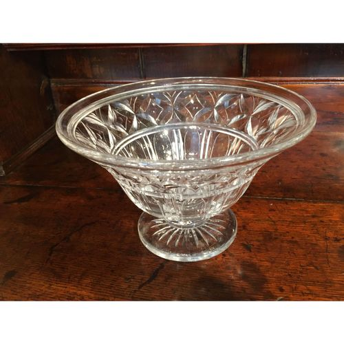 19th. century Stuart Crystal Glass Bowl