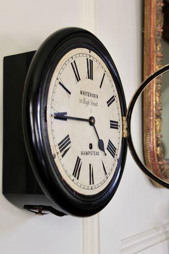 19th Century 10 Inch Dial Clock