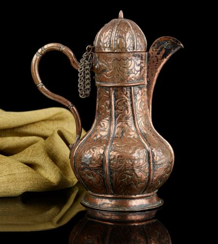 Rare 16th Century Venetian Copper Ewer