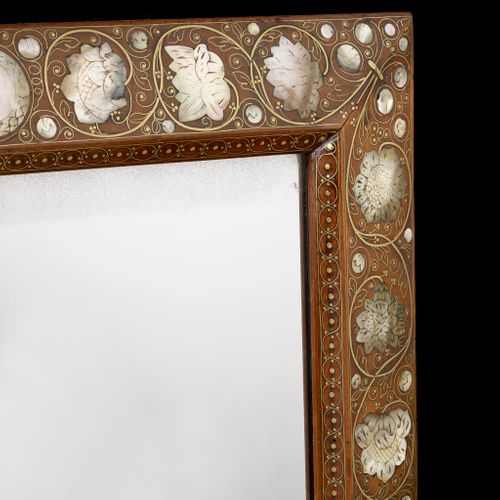 A Walnut Mirror c.1670-1680