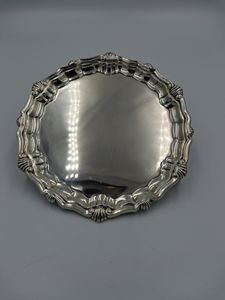 19th Century Silver Salver by James Parkes of London