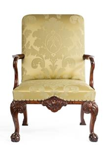 19th century Walnut Armchair