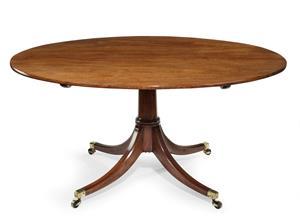 Georgian oval table