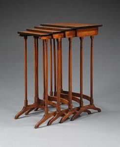 Early 19th Century Nest of Tables