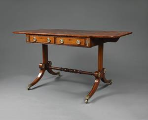 19th Century Regency sofa table