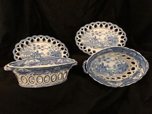 19th century transfer ware