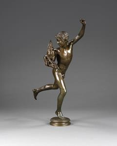 19th Century Bronze Figure