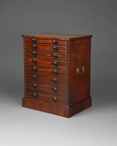 Early 19th Century Collector's Chest