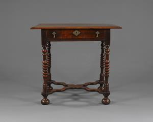 William & Mary Period Side Table