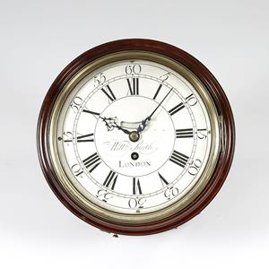 Georgian wall or dial clock