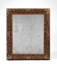 19th century large Anglo-Indain mirror