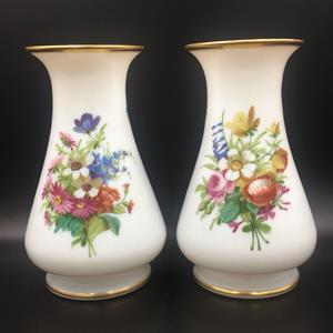 Victorian Opaline Glass Vases