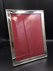 Large silver photograph frame