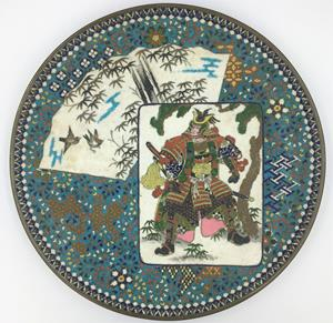 Meiji Period Japanese plate