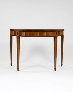 18th Century Irish Demi-Lune Console Table