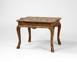 20th century Gilt Gesso low table or coffee table