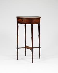 Georgian Oval top Occasional Table