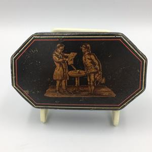 Victorian Papier Mâché Snuff Box