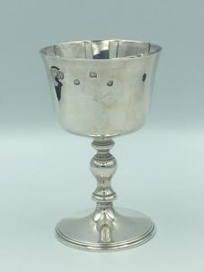 Sheffield Solid Silver Goblet