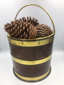 18th Century Brass Bound Bucket