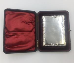 Solid Silver Card Case