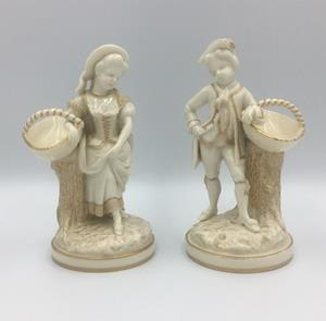 Pair of Royal Worcester Figures