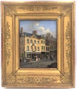 19th Century Street Scene in Boulogne
