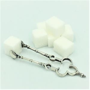 Novelty silver sugar tongs