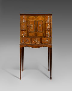18th century cabinet on stand