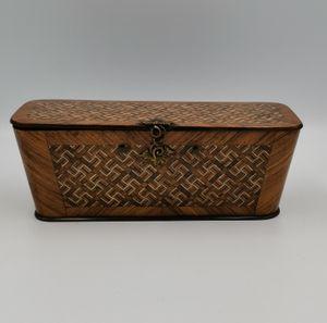 19th century French veneered box