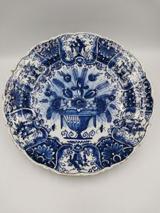 18th Century Dutch Delft Charger