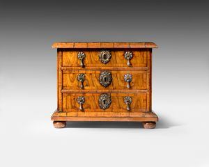 William and Mary period miniature chest