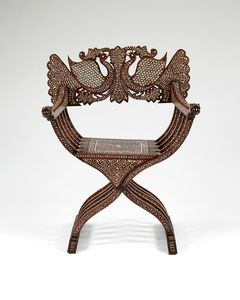 19th Century  Anglo-Indian Armchair