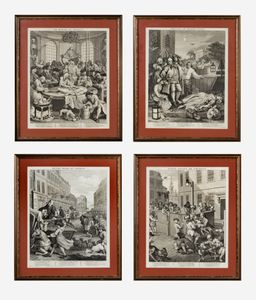 Hogarth prints - The Four Stages of Cruelty