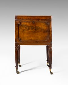 19th Century Mahogany Cellarette
