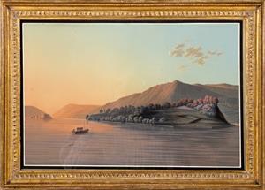 A fine pair of Swiss lakeland scenes