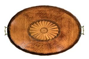Satinwood Tray