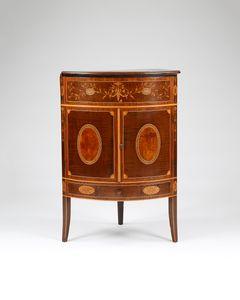 18th Century Corner Washstand Cabinet