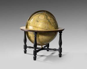 19th century table globe by John Cary