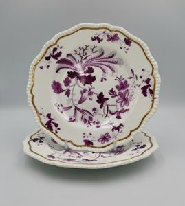 Pair of Early 19th Century Coalport Plates