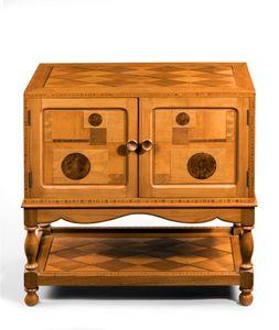 Art Deco record cabinet by Geoffrey Alexander MacMillan